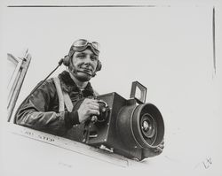 Don Meacham in flying togs