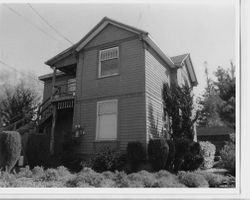 1900 Greek Revival house in the Walker Addition, at 6869 Fannen Avenue, Sebastopol, California, 1993