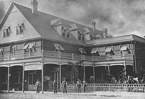 Pioneer Hotel Porterville Calif 1900