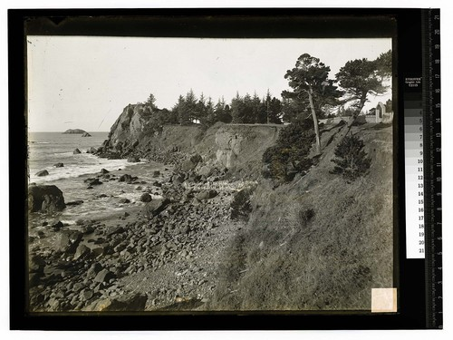 A Glimpse of the Ocean, California [Lovers Rock (Del Norte)/unknown]