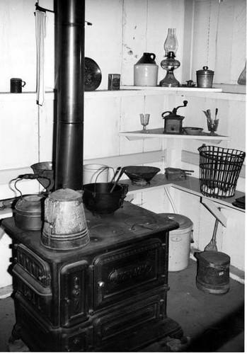 Leonis Adobe Kitchen 1963 Calisphere