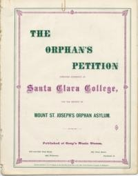 The orphan's petition / words from the French of Bérenger ; music by A