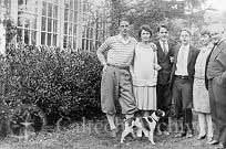 Robert and Greta Millikan with their family