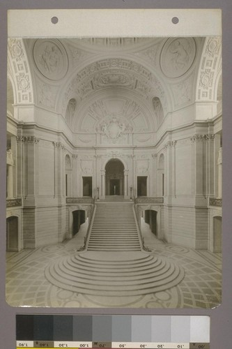 [Rotunda, showing grand staircase and arches.]