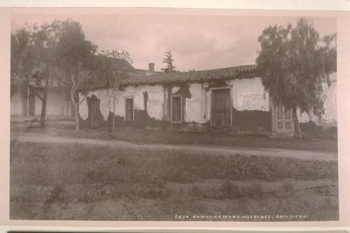 Ramona's marriage place. San Diego.--6874