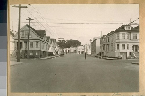 East on Balboa St. from 2nd Ave. Feb. 1924