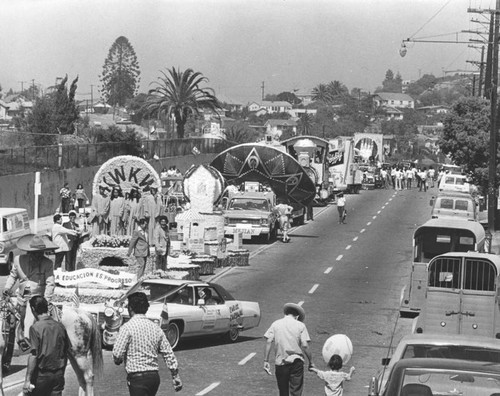 East Los Angeles parade floats