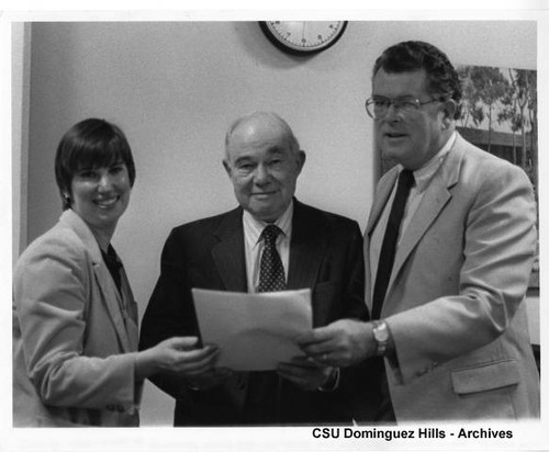 CSU Archives Advisory Meeting with Louis Heilbron