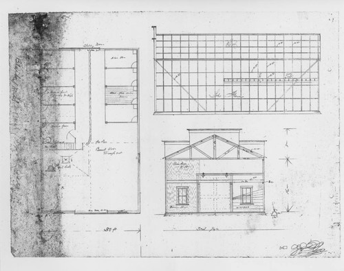 Calisphere architectural drawing for an unidentified industrial architectural drawing for an unidentified industrial building in sonoma county california most likely prepared malvernweather Choice Image