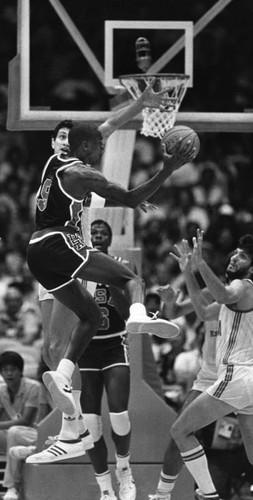 Calisphere Jordan Drives The Ball