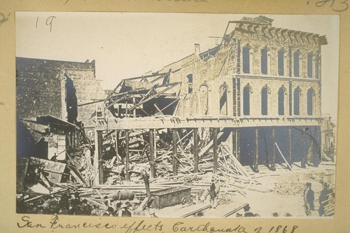 San Francisco effects Earthquake of 1868