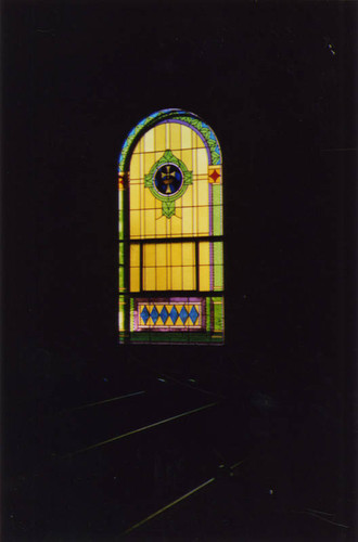St. Peter Catholic Church, stained glass window
