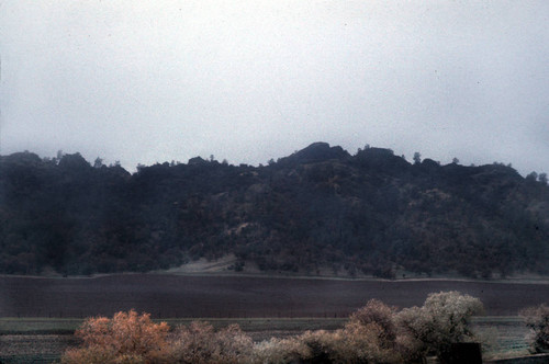 Landscape scene--View of Story Rocks at Bear Valley