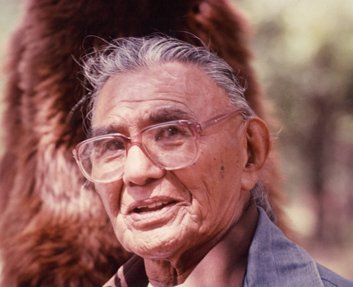 Seymour Smith at the Greenville Bear Dance--1982