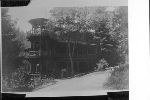 Hotel at Camp Meeker