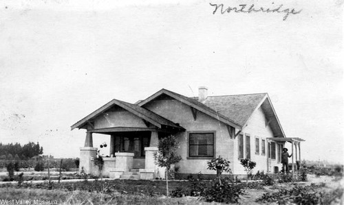 House in Zelzah, California, 1918