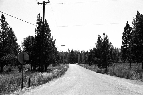 Entrance to Laytonville Rancheria--Reservation Road