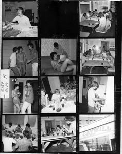 Gay Community Services Center (GCSC) Liberation House contact sheet
