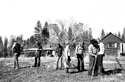 Butte College Field Ethnology Class at Chi Chi at Jackson Ranch near Feather Falls