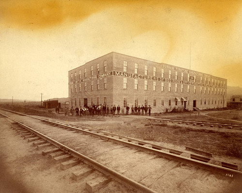 Burbank Furniture Manufacturing Company, 1887