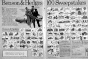 Benson & Hedges 100 Sweepstakes