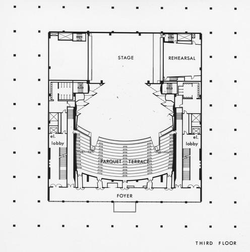 Calisphere Ahmanson Theatre 3rd floor plan – How To Get A Floor Plan