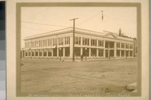 Department Store - Union Lumber Co. - Fort Bragg