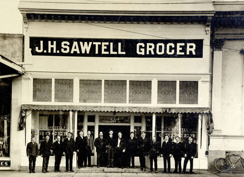 Sawtell's Grocery Store in Chico, California