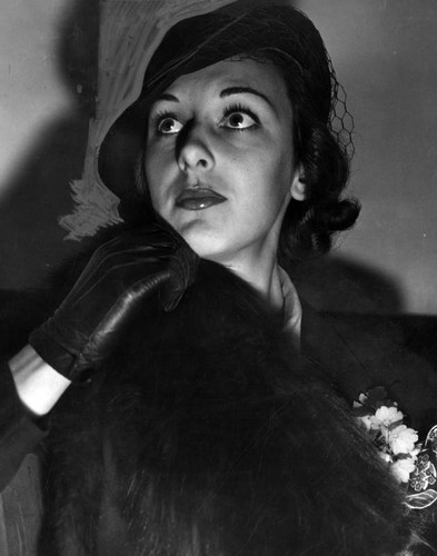 Ann Dvorak in court