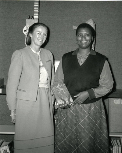 Linda Crismond and Gloria Naylor