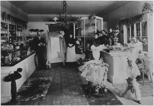 Calisphere  Rickett s Millinery Shop Interior cf0c59aecae