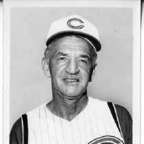 Don Heffner, Manager of the Cincinnati Reds, former Major League infielder, 1030s and 1940s