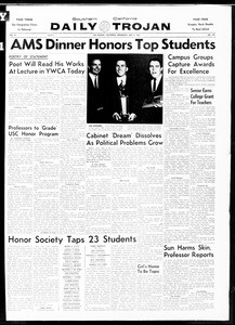 Daily Trojan, Vol. 52, No. 118, May 03, 1961