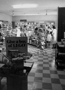 Newly opened Family Bookshop Group in Bahrain in 1972