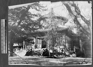 Temple, Beijing, China, ca.1870-1880
