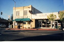 Sebastopol, California, North Main Street at Bodega Avenue, about 2000