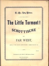 Little torment : schottische / composed by Far West