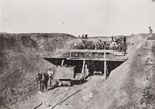 Building the railroad from surf to Gaviota was no easy task for the Chinese brought here to accomplish the job