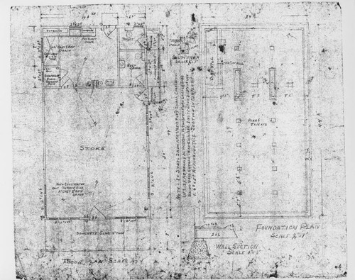 Calisphere architectural plans for an unidentified santa rosa architectural plans for an unidentified santa rosa commercial building ca 1920 malvernweather Choice Image