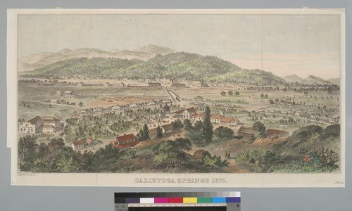 Calistoga Springs [Napa County, California] 1871