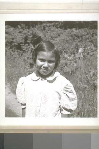 Patty Lopez, Smith River, Calif. June 18, 1938