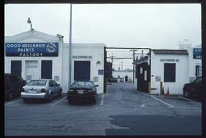 Industrial buildings along Stanford Avenue between East Gage Avenue and East Florence Avenue, Los Angeles, 2003
