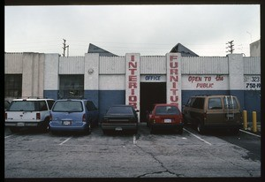 Industrial buildings along Mckinley Avenue between East Gage Avenue and East Florence Boulevard, 2003