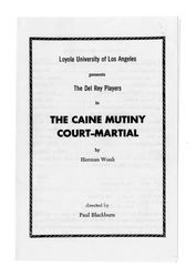 The Caine Mutiny Court-Martial, 1955
