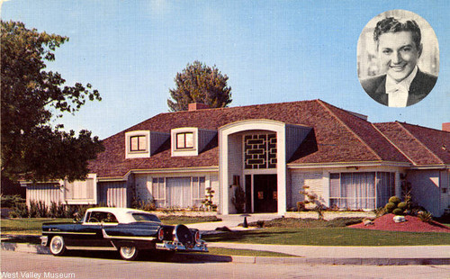 Home of Liberace, Sherman Oaks, circa 1955