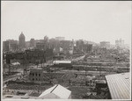 [South of Market district, looking northwest from Rincon Hill. Second St., lower left to center]