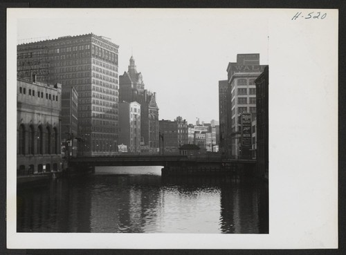 Since the Milwaukee River runs through the heart of the city of Milwaukee, many of its large commercial buildings are
