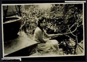 Eileen Chang's mother, ca. 1930