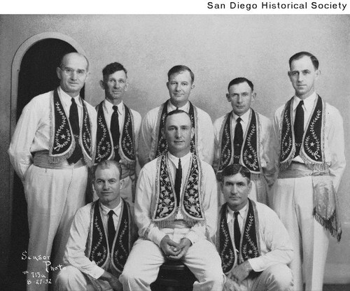 Group of Odd Fellows wearing drill team costumes  sc 1 st  Calisphere & Calisphere: Group of Odd Fellows wearing drill team costumes
