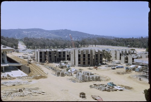 Revelle College Residence Halls under construction